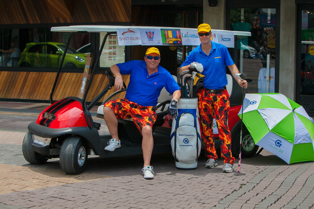 Pattaya to Phuket by golf cart Guinness World Record attempt to raise money for Phuket Has Been Good To Us Foundation | Samui Times