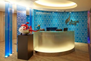 Bangkok airways passenger lounge
