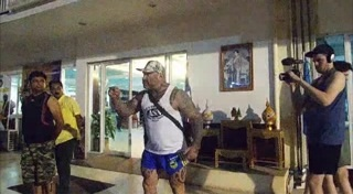 Group of Australian tourists storm into Pattaya police station berating the police and attack a Thai reporter | Samui Times