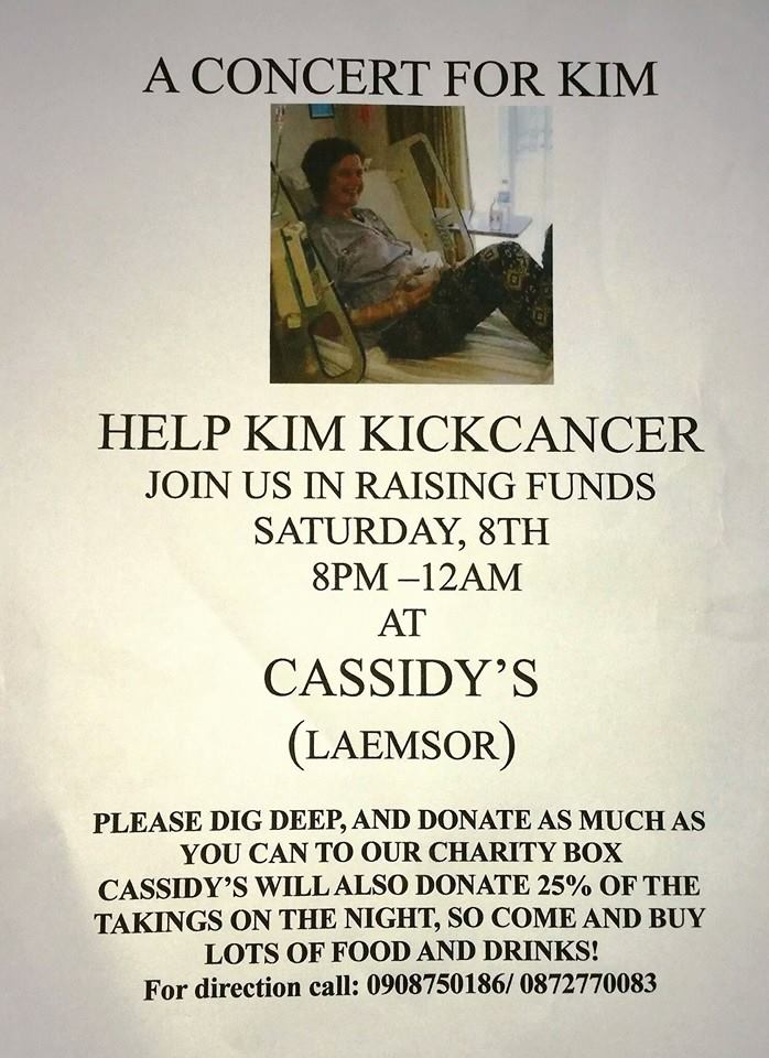 Concert for Kim – an opportunity to support an island resident with cancer | Samui Times