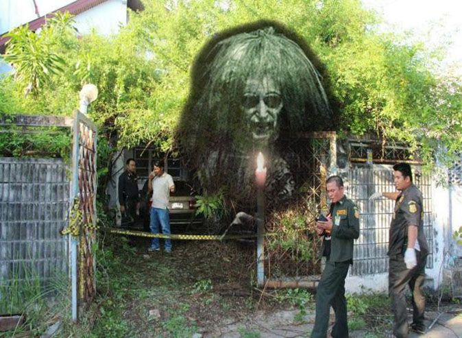 Ghost leads construction worker to her dead body | Samui Times