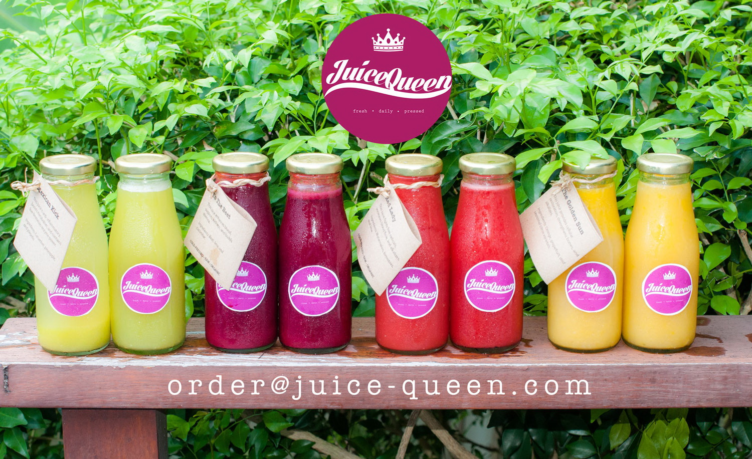 Juice Queen Samui delivers daily pressed juices for those interested in good health - Samui Times