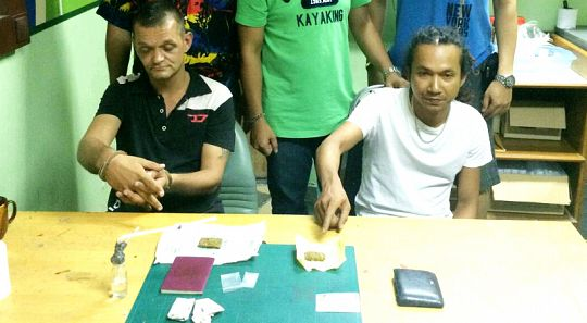 Brit arrested in Phuket with ganja and ice | Samui Times