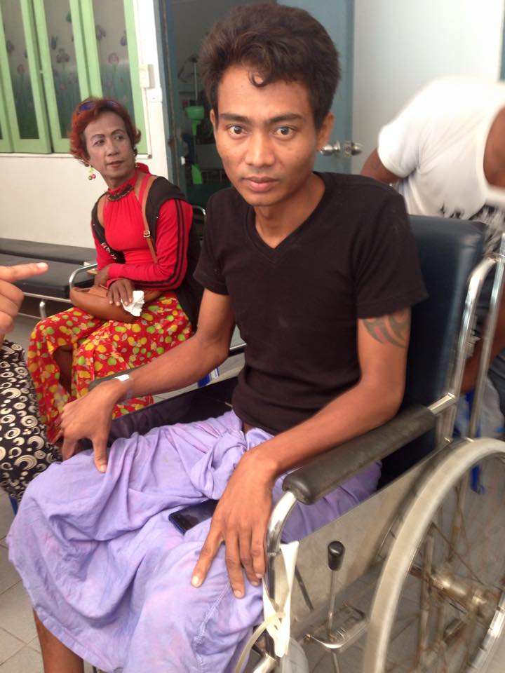 DONATIONS SOUGHT URGENTLY FOR RAKHINE DISABLED MIGRANT WORKPLACE ACCIDENT VICTIM ON KOH SAMUI | Samui Times