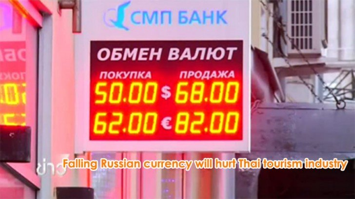 Falling Russian currency will hurt Thai tourism industry | Samui Times
