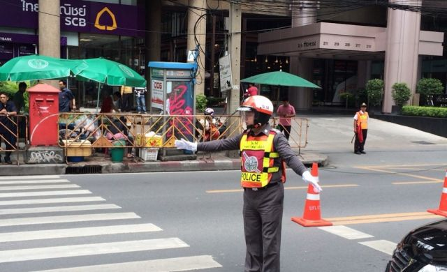 Bangkok traffic police affected by numerous diseases | Samui Times