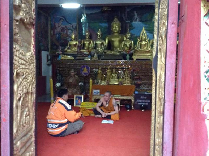 High Russians Break Into Temple, Dress As Monks: Police | Samui Times