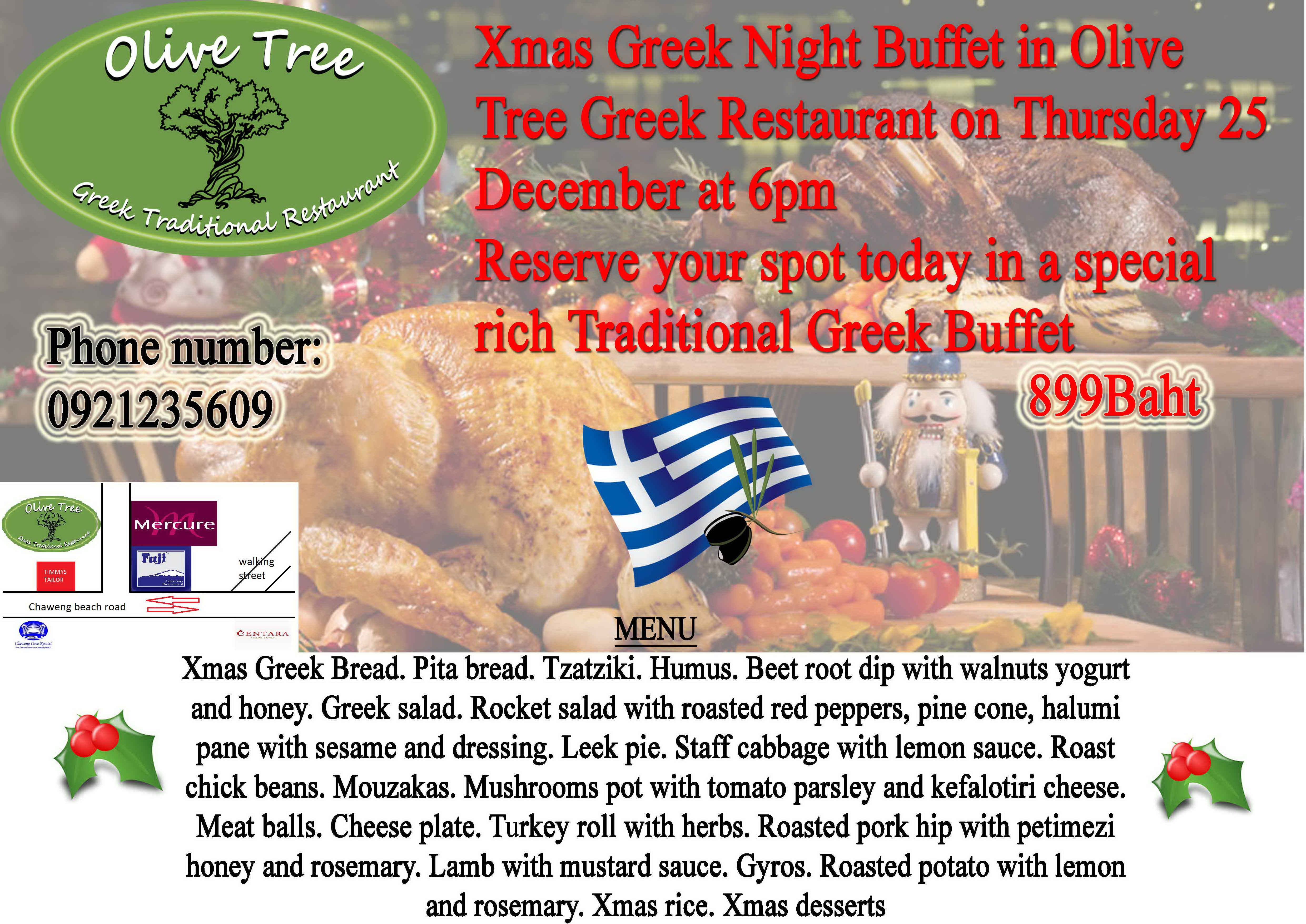 Wondering what to do for Christmas? why not turn it Greek? | Samui Times