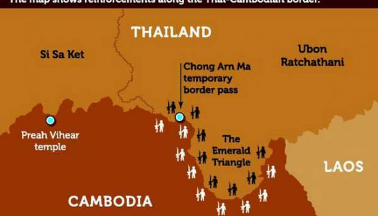 Border tensions brewing between Cambodia and Thailand | Samui Times