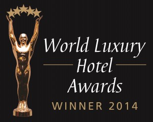 The Global Winner in 'Luxury Hideaway Resorts' by World Luxury Hotel Awards 2014