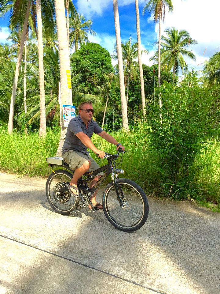 Just a few reasons why the new iBike electric bikes in Samui