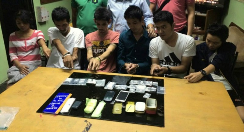 Six arrested with large amount of ice   Samui Times