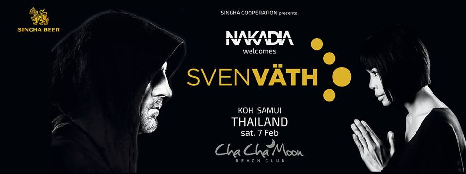 Legendary Sven Väth is playing three hours set on Koh Samui! – only 200 tickets left | Samui Times