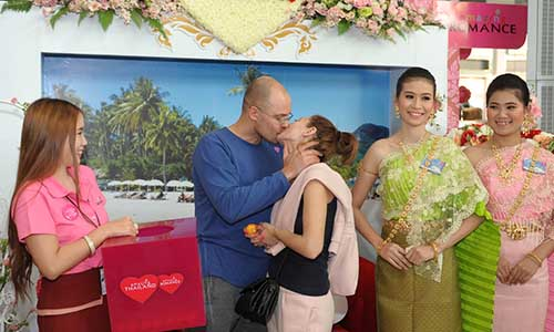 """Romantic Thailand"" activities held throughout Feb 