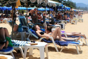 beach beds in Phuket