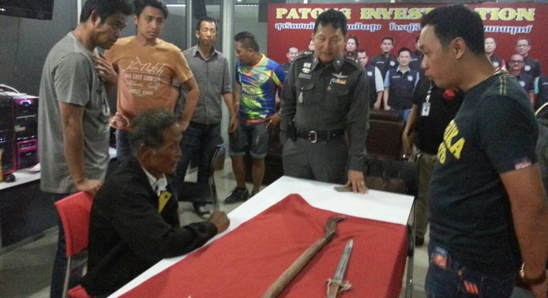 Phuket man killed in machete attack | Samui Times