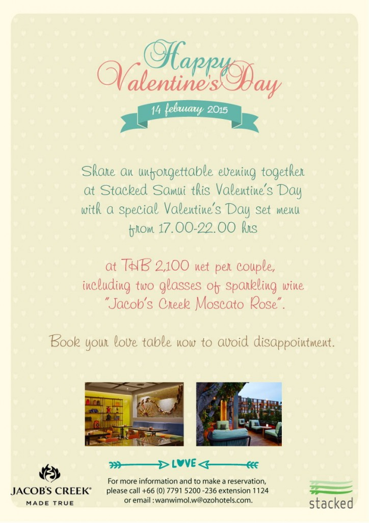 valentines day at stacked