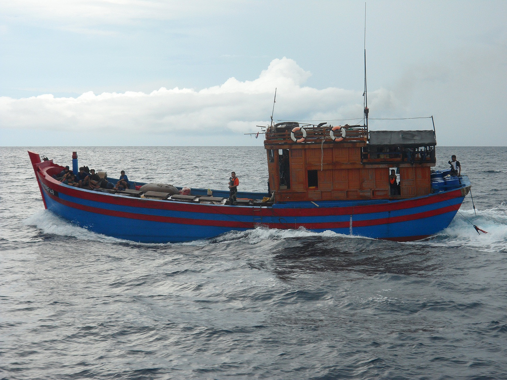 Three Vietnamese fishing boats with fake Thai names seized in Gulf | Samui Times