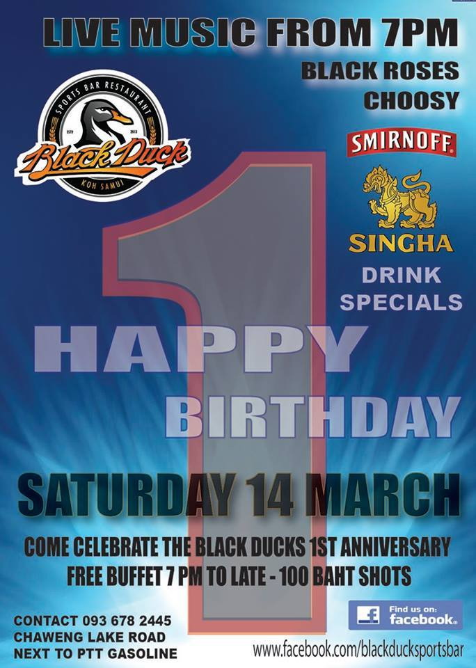 Black Duck Birthday