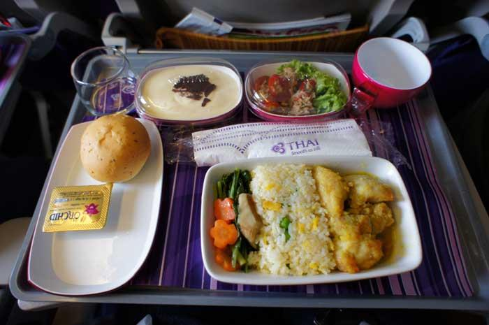 Thai Airways set to improve on-board food | Samui Times