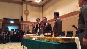 Thai police arrested for drug dealing
