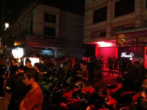 angry bikers Thailand