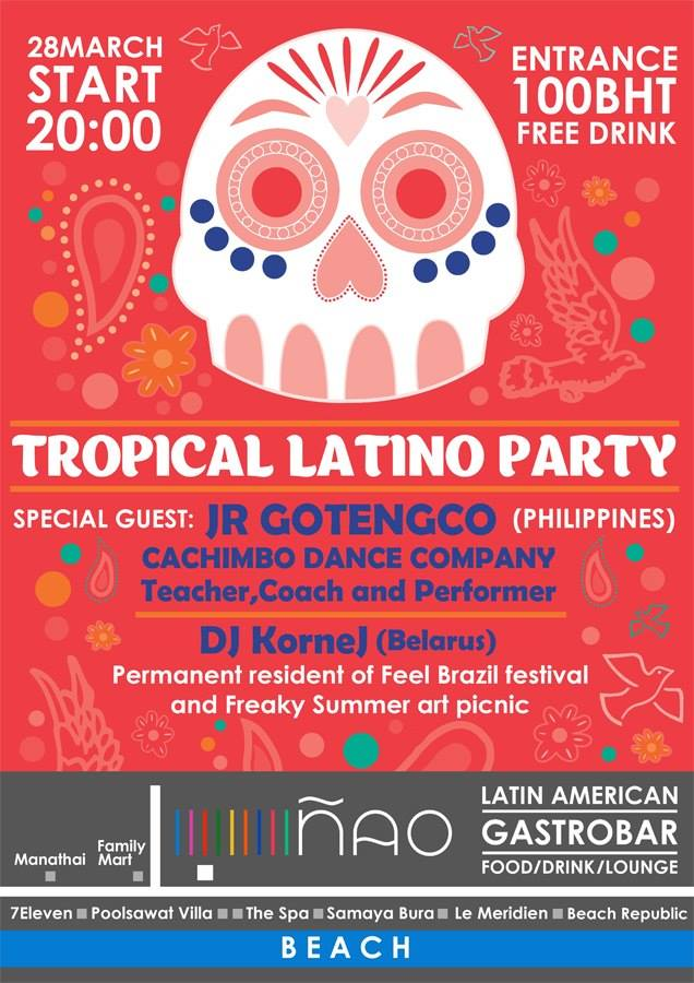 tropical latino party