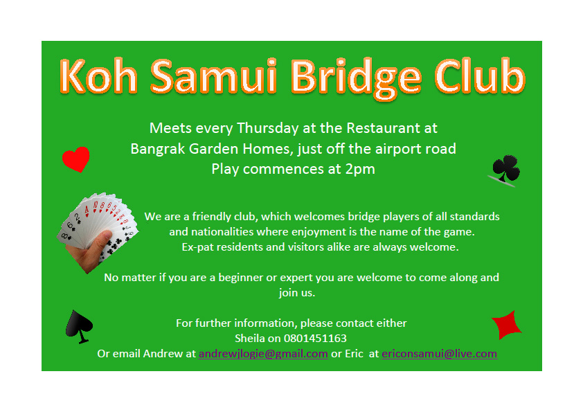 Koh Samui bridge club