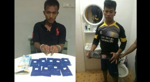 burmese arrested with yaba in Thailand