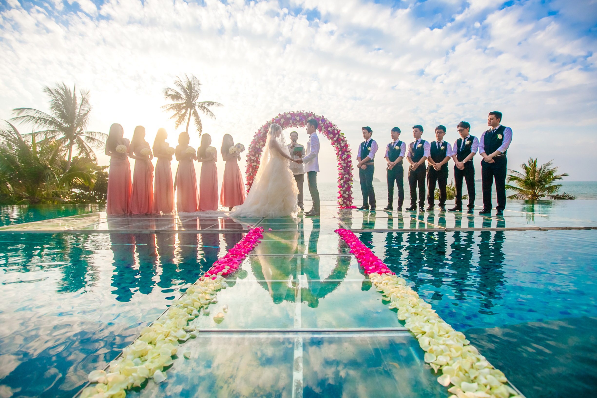 Conrad Koh Samui Introduces Over Water Wedding Ceremony
