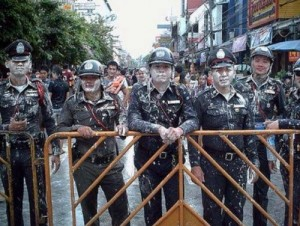 englihs speaking police in Thailand