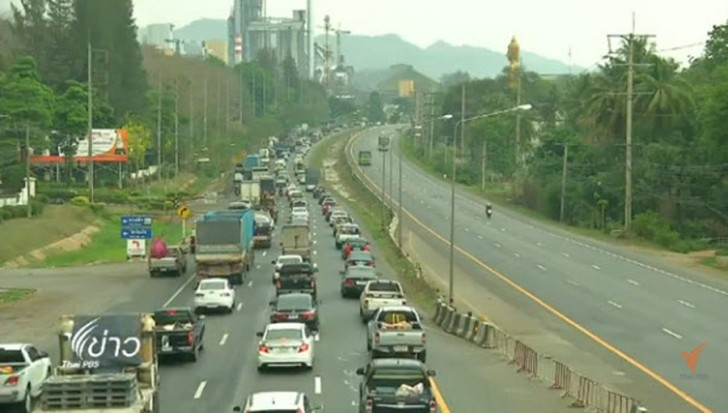 Cameras being installed to catch motorists changing lanes illegally | Samui Times