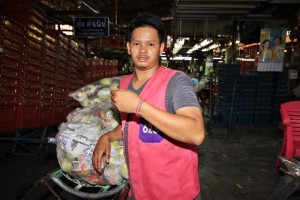migrant workers in Thailand to wear wrist bands
