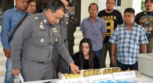 police arrest woman in Phuket with drugs