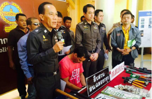 columbian gang arrested in Thailand