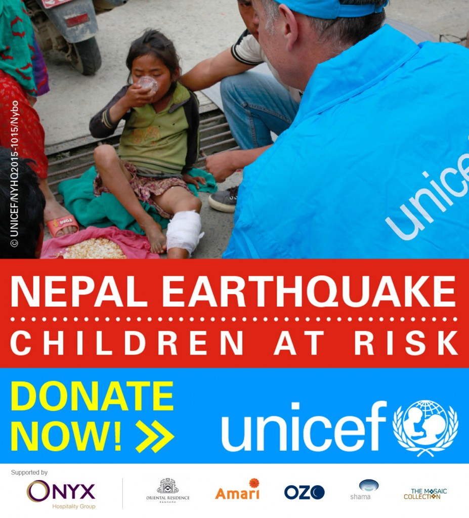 help nepal with Ozo Chaweng