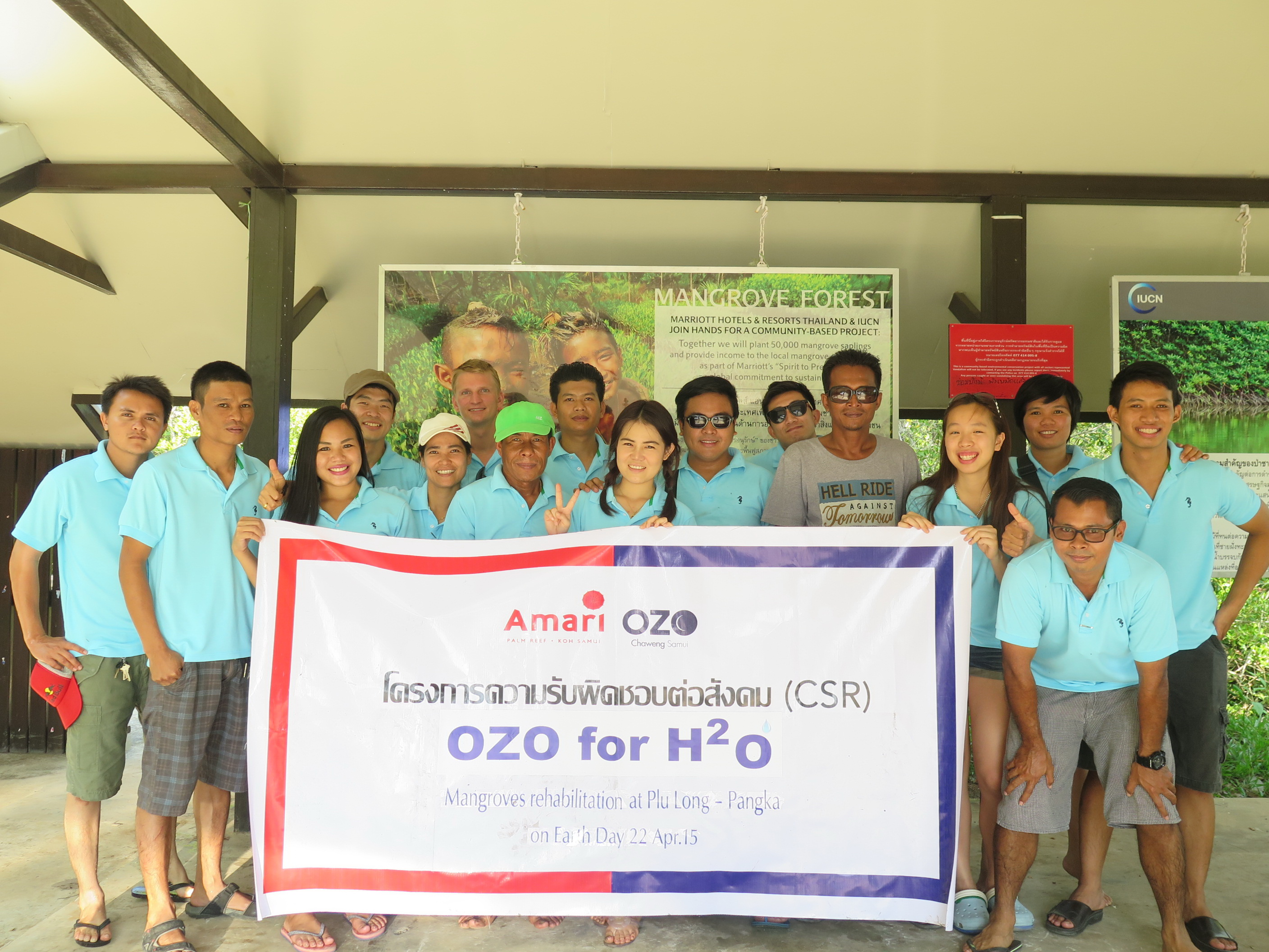 OZO Chaweng  Celebrates Earth Day with Mangroves Rehabilitation Project | Samui Times