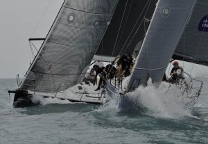 Foxy Lady VI on their way to two wins in IRC One yesterday