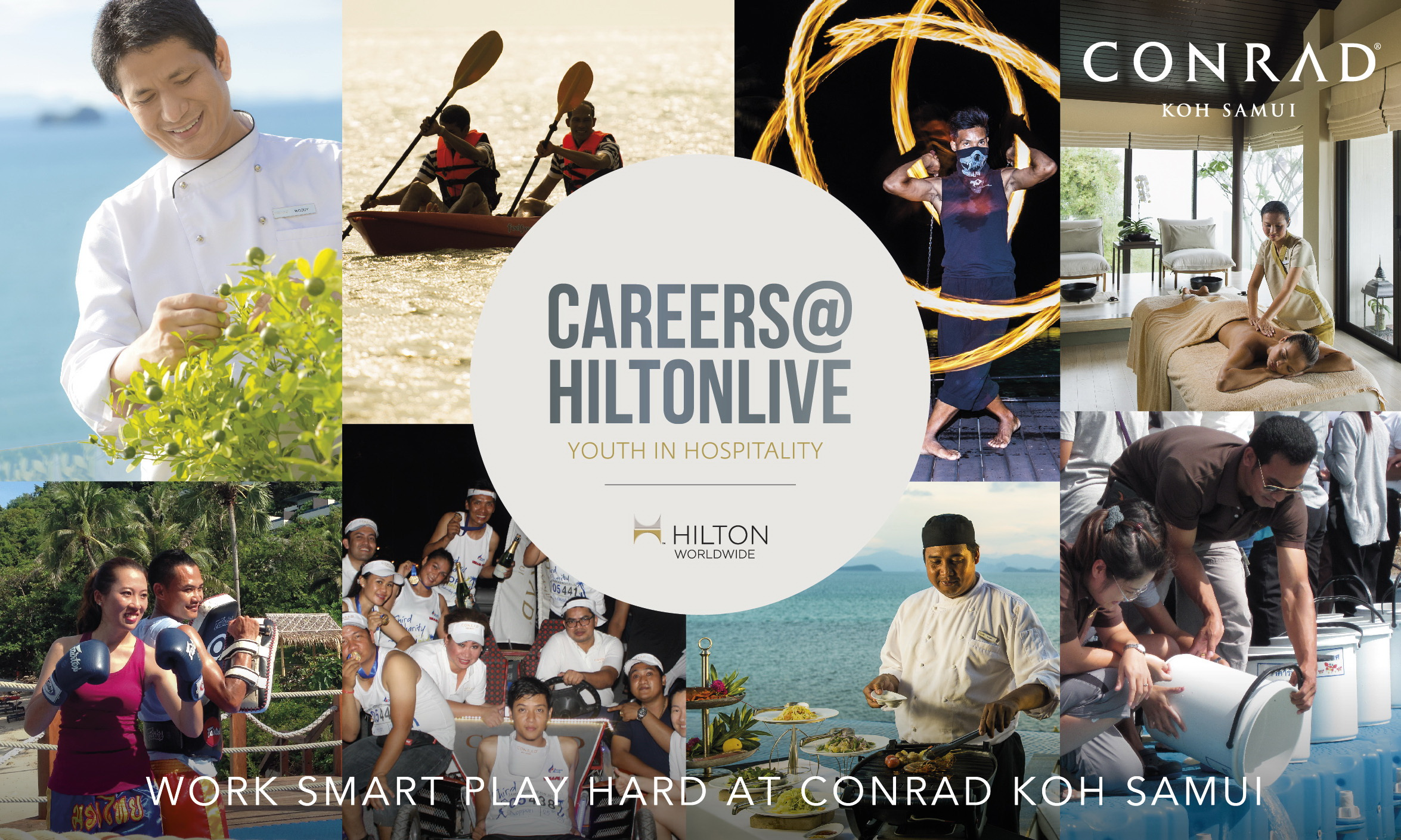 Conrad Koh Samui Joins Hilton Worldwide Largest Global Career Event | Samui Times