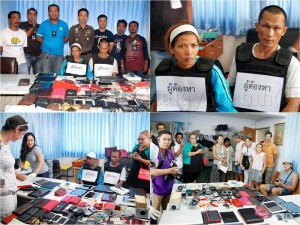 couple arrested for stealing from farang