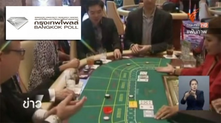 Poll shows most people oppose legalizing casinos | Samui Times