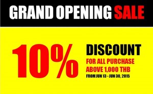 grand opening sale 1