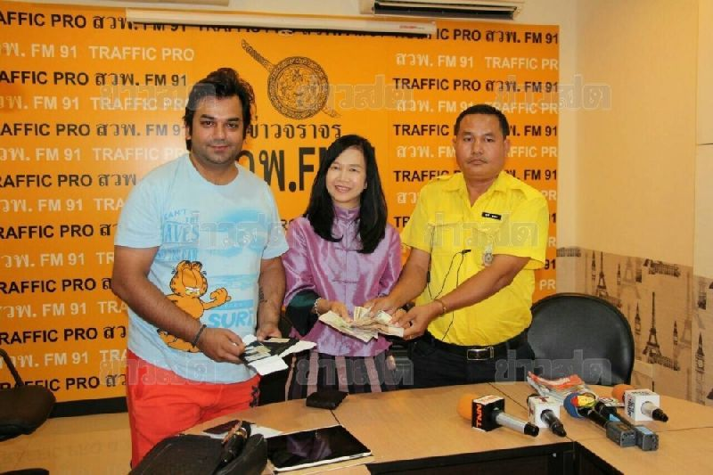 BKK Taxi Driver Returns 41,000 Baht to Indian Passenger | Samui Times