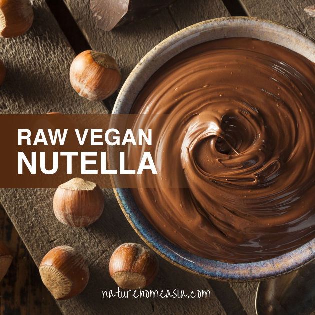 Nature Home Asia's resident Nutritionist Gee Palmer's recipe for raw vegan Nutella | Samui Times