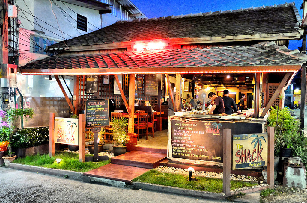 The shack bar and grill an unforgettable dining
