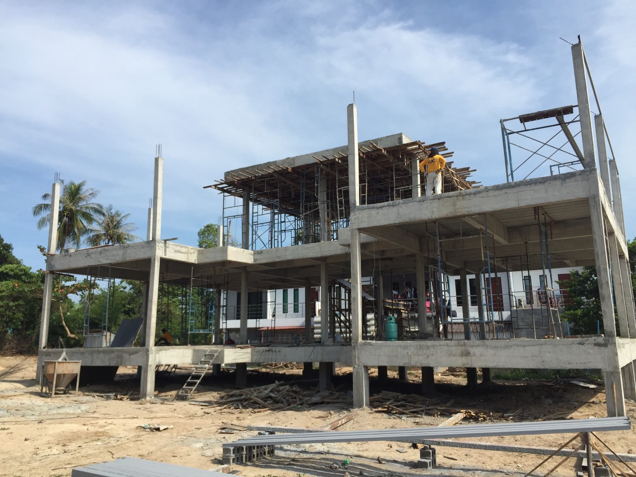 Construction of the new Special Needs School in Ban Rak – update | Samui Times