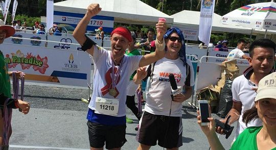 Running to help fight HIV in Phuket | Samui Times