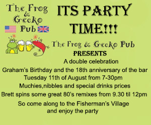 Its party time tonight at the Frog and Gecko Pub in Bophut | Samui Times