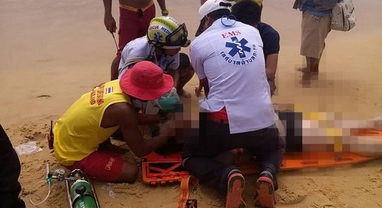 Korean drowns in heavy Phuket surf | Samui Times