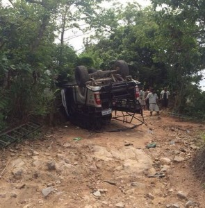 off road jeep accident Samui